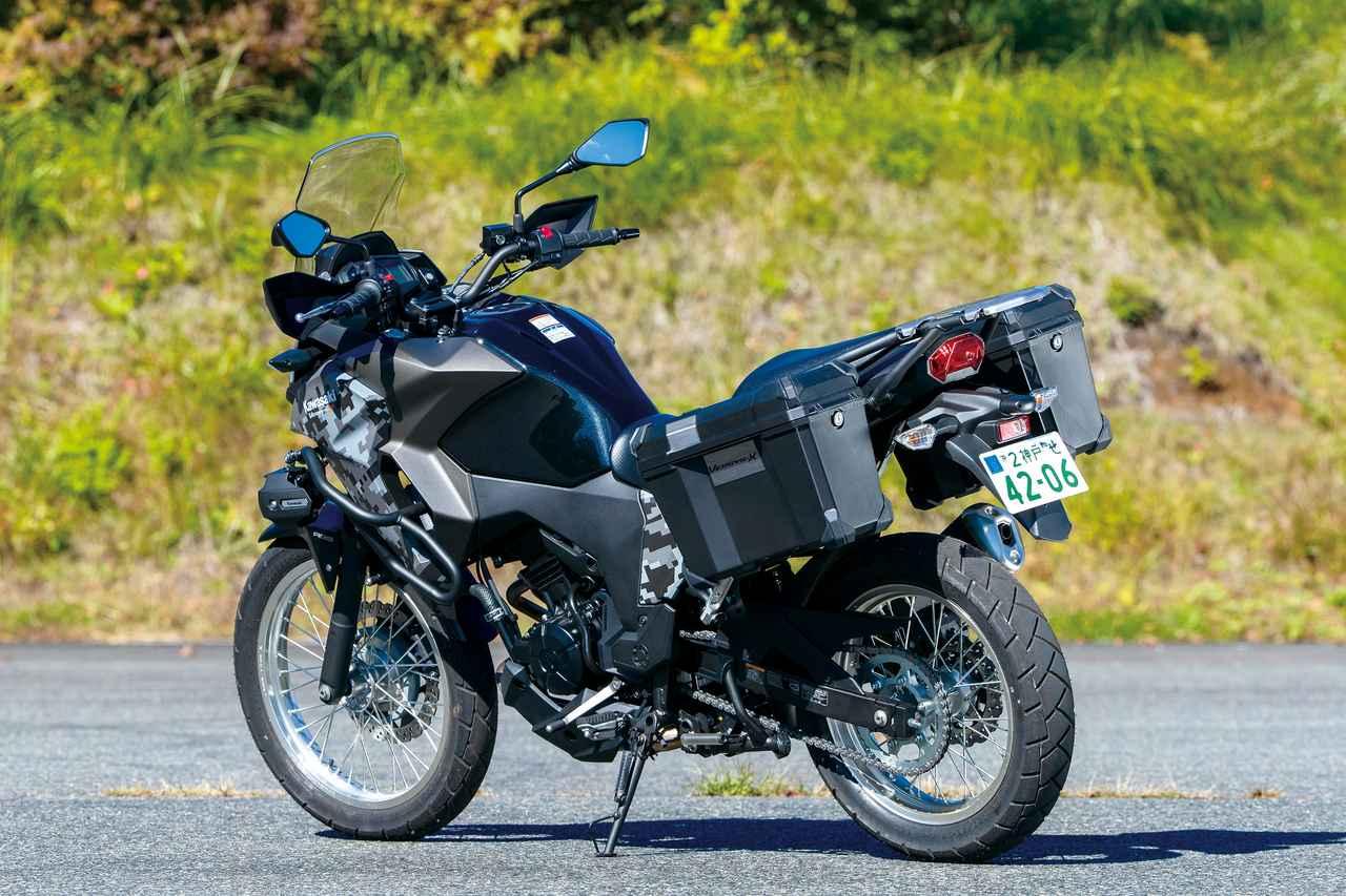 Images : 4番目の画像 - KAWASAKI VERSYS-X250 TOURER - webオートバイ