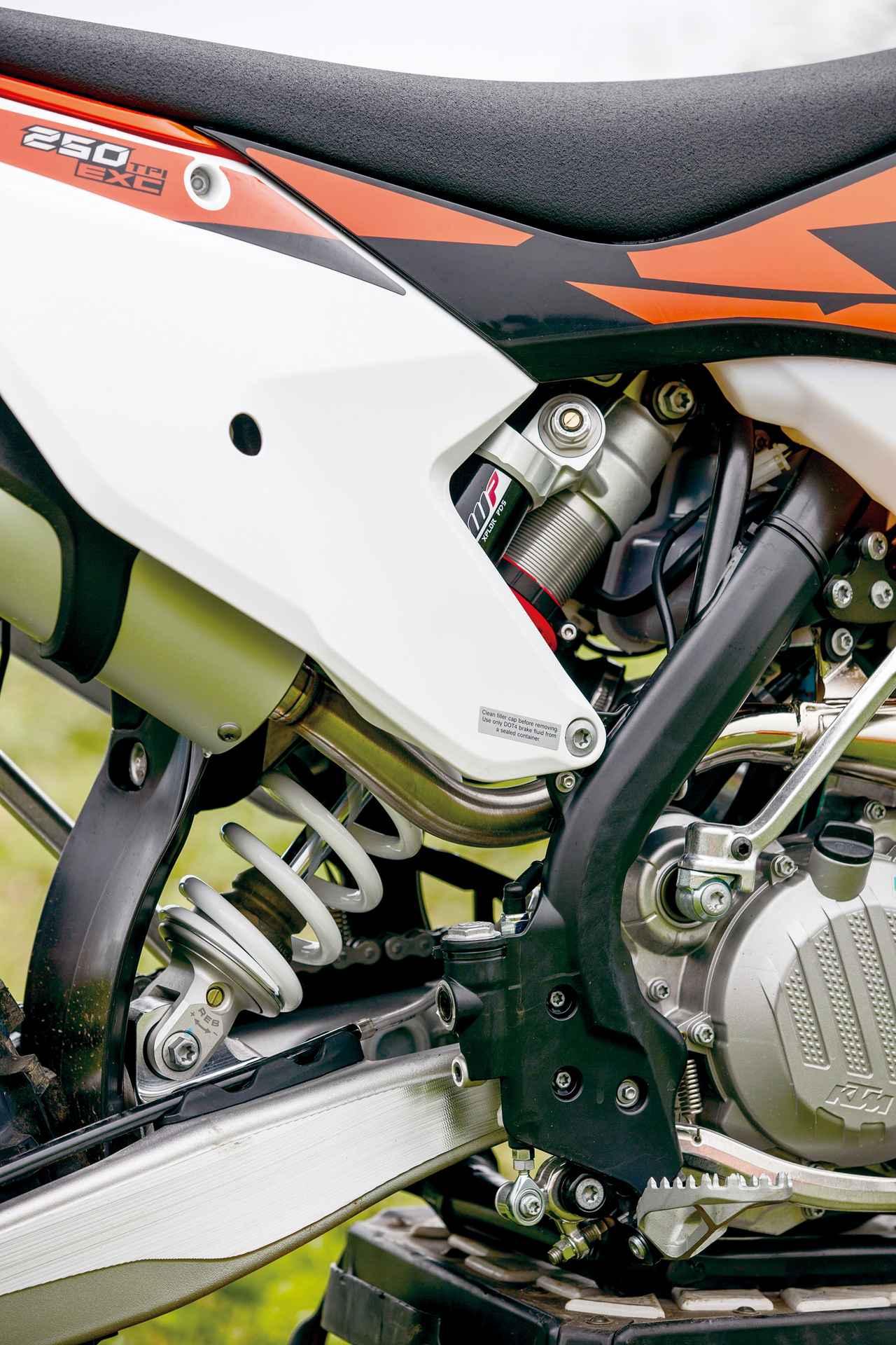 Images : 7番目の画像 - KTM 250EXC TPI - webオートバイ