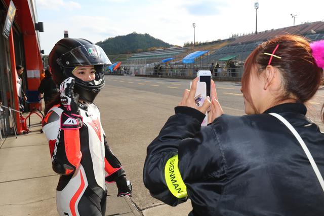 画像5: ヘルパーとして、オートバイ女子部のDE耐に参加しました!