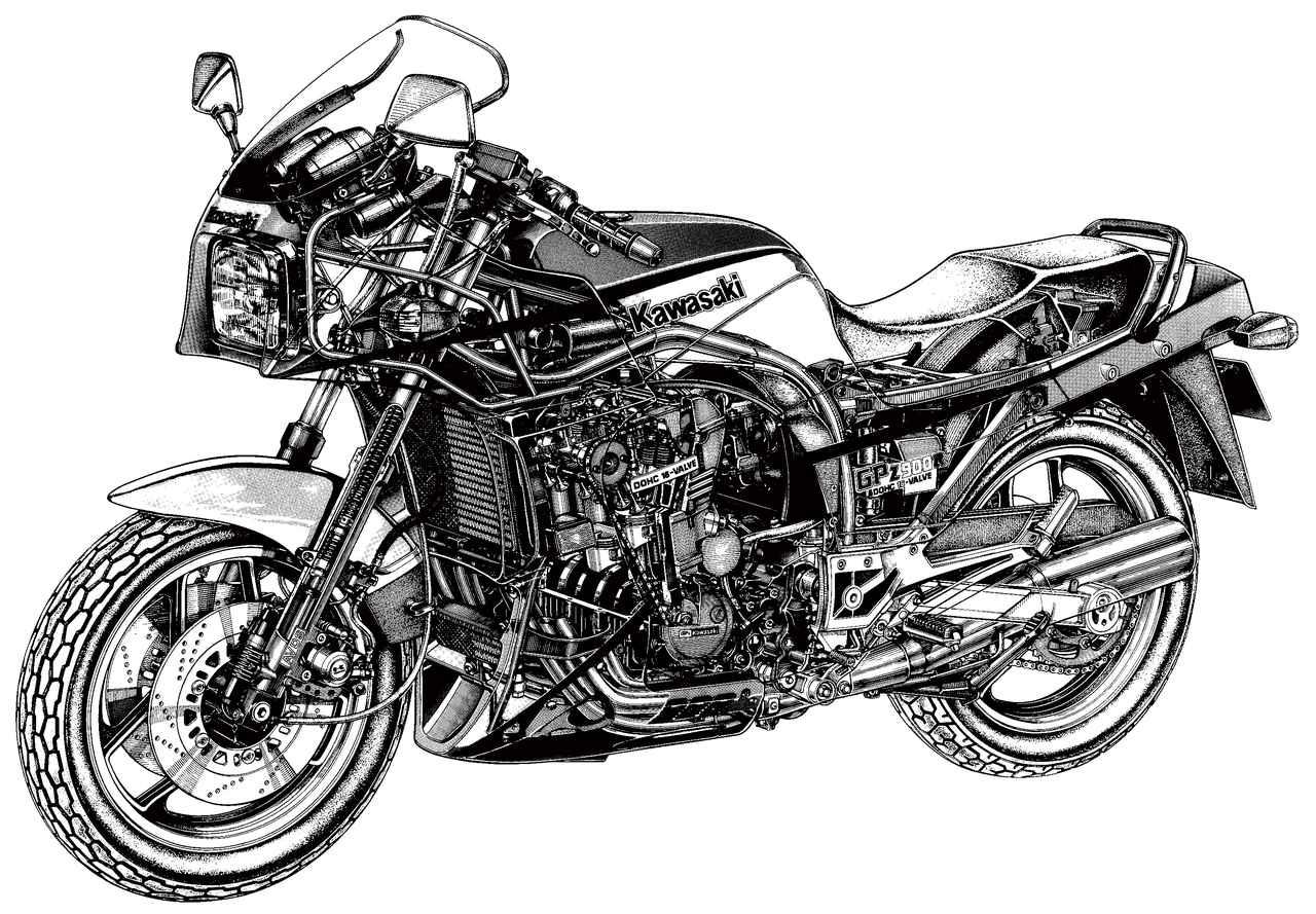 Images : 11番目の画像 - KAWASAKI GPZ900R[FZ]Final Edition - webオートバイ