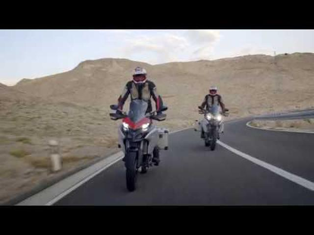 画像: Multistrada 1260 Enduro - Beyond Boundaries youtu.be