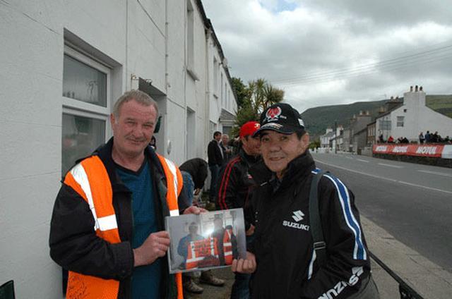 画像: 2010年マン島TTレースにて 写真提供:WEBミスター・バイク