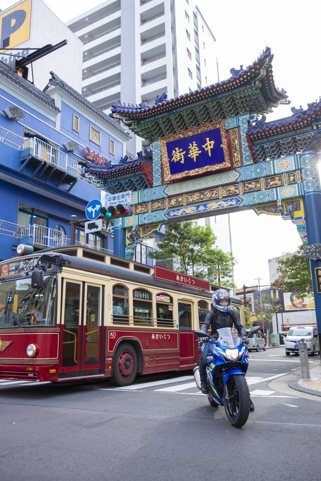画像3: そして、お約束の中華街へ!