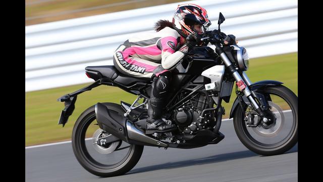画像: 【最高速】梅本まどかがホンダCB250Rで最高速にアタック! youtu.be