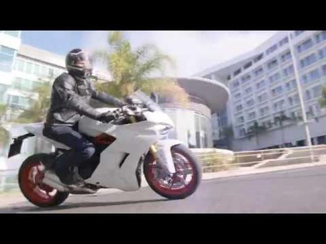 画像: Ducati SuperSport: sport, made light. youtu.be
