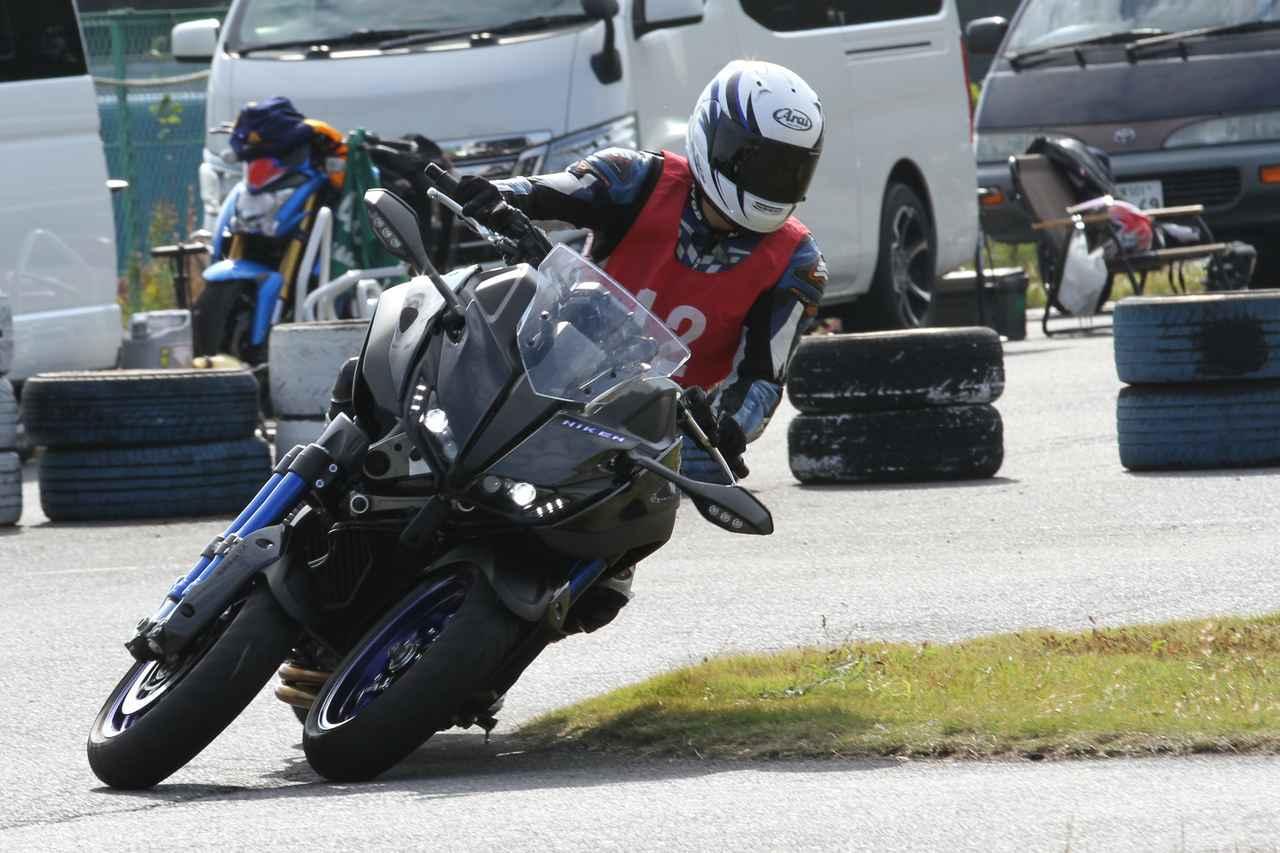 Images : 10番目の画像 - 「「NIKEN(ナイケン)」ジムカーナに挑戦した、トップライダーたちのコメントをお届け!」のアルバム - webオートバイ