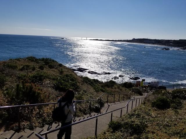 画像2: なんとか犬吠埼灯台へ到着!!