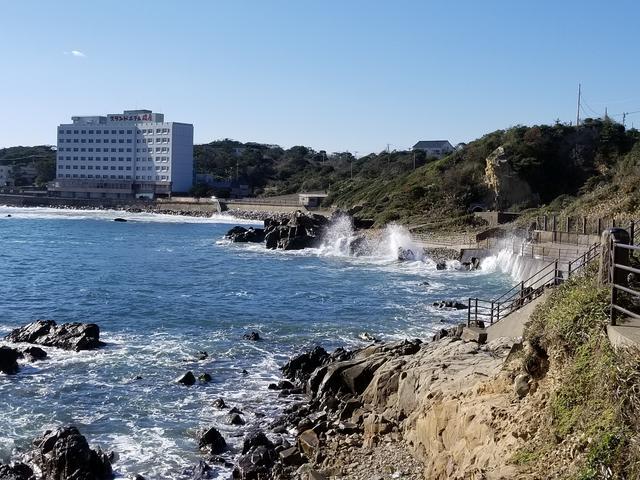 画像: すっごく目の前まで降りられて、波もそこそこ高かったからちょっと怖かった((((;゜Д゜)))