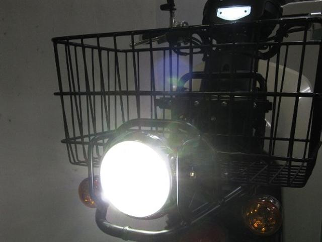 画像: 『'18~スーパーカブ110プロ(JA42)専用 明るいLEDヘッドライトkit発売しました!』