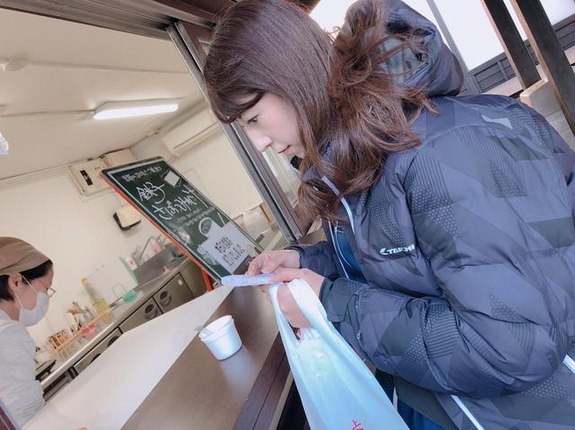 画像: レシピ貰って、真剣に読む図。 つみれ汁は美味しかった~! ありがとうございます。