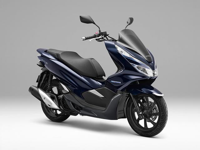 画像: 二輪車用ハイブリッドシステムを採用し、さらなる走りの楽しさを追求した 原付二種スクーター「PCX HYBRID」を発売