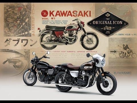画像: 2019 Kawasaki W800 STREET/CAFE - Action Video www.youtube.com