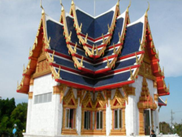 画像: ワットパクナム日本別院 寺院 watpaknam ::: 千葉・大栄町・大本山成田山近くにあるタイのお寺