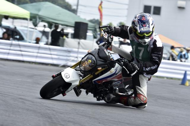 画像: 「DUNLOP・月刊オートバイカップ!ジムカーナ大会」(撮影:小松信夫)