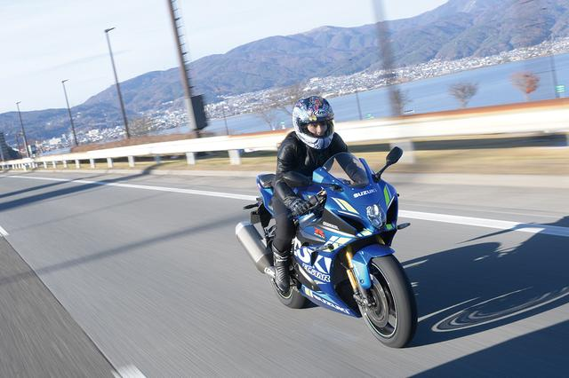 画像: SUZUKI GSX-R1000R ABS(葉月美優)