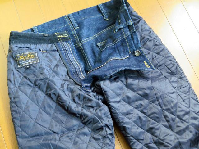画像2: 冬のツーリングに革命をもたらした、ぬくぬくジーンズ