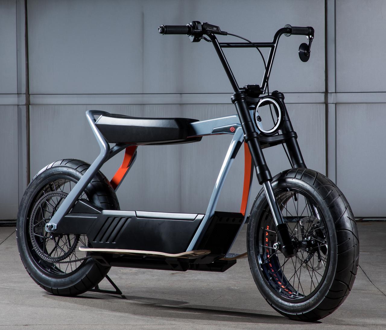 画像2: 電動バイク時代のリーダーを目指すH-Dの新型車は、軽量モデルだった!
