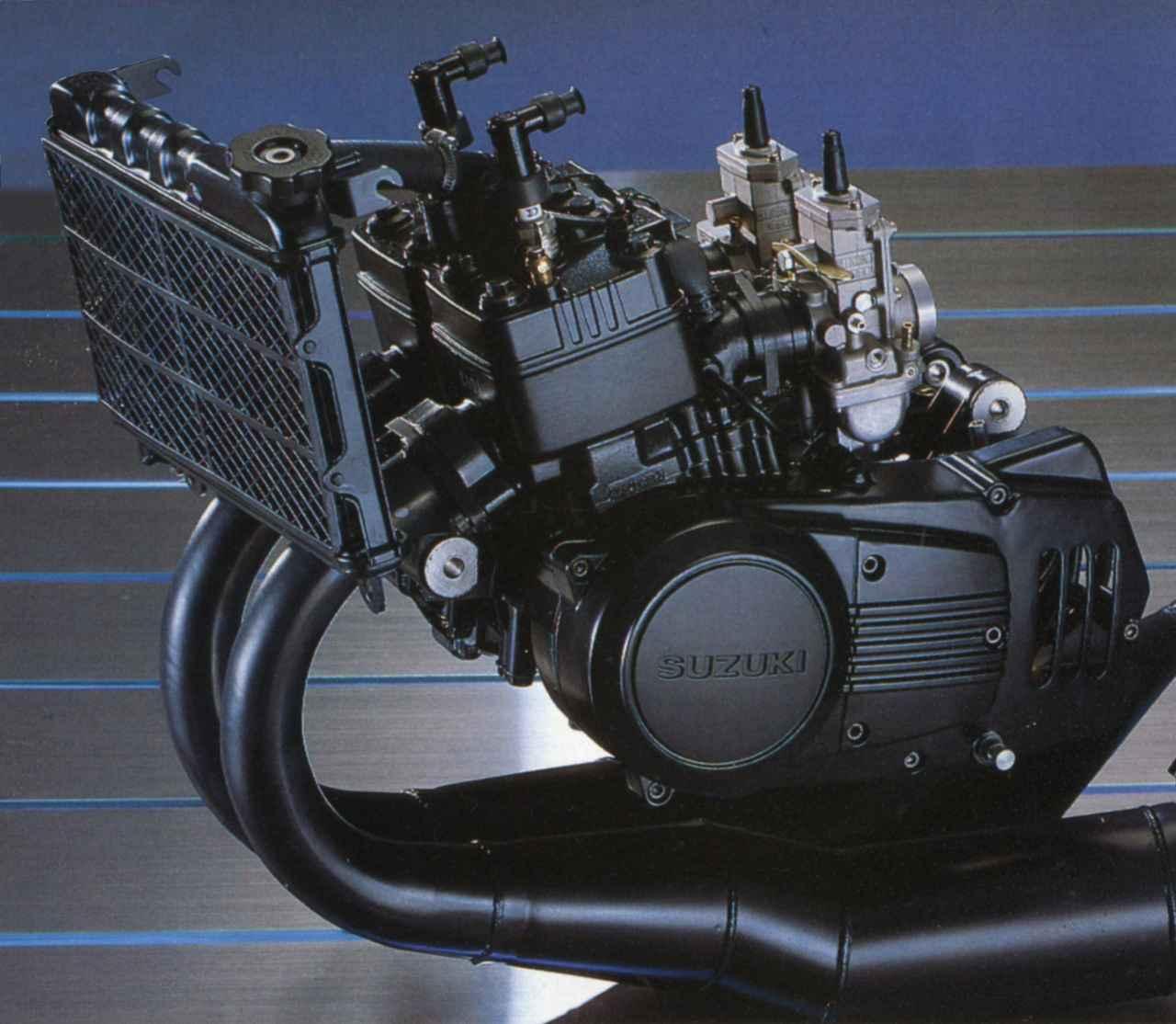 Images : 4番目の画像 - RG250Γ (GJ21A)  1983 - webオートバイ