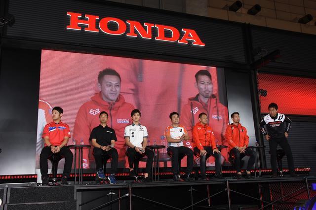 画像: 全日本ロードレース、モトクロス、トライアルのライダーが勢ぞろいしました