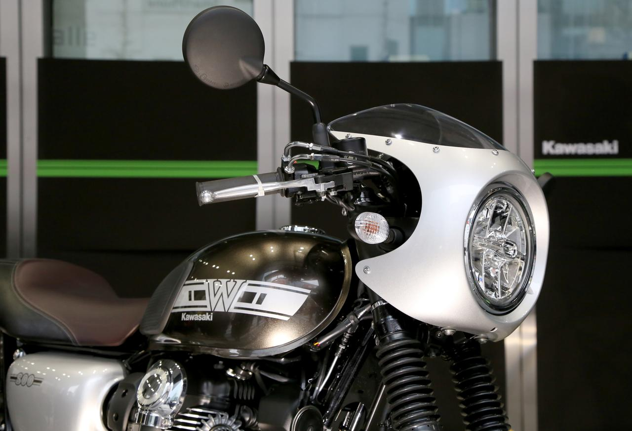 画像2: ・W800 CAFE 参考出品 ・VERSYS 1000 SE 参考出品 ・Ninja H2 SX SE+ 参考出品 ・Ninja ZX-10R SE 参考出品 ・Z400 参考出品 ・Z125 PRO ・Ninja H2 CARBON ・Ninja ZX-6R