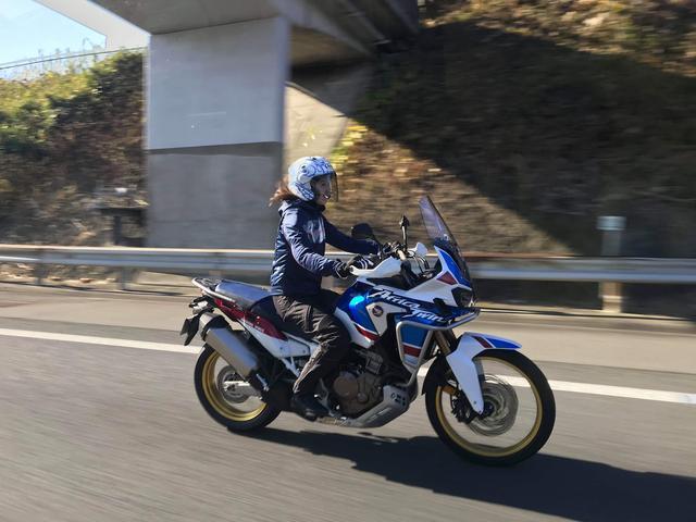 画像: 今回、「伊藤真一のロングラン研究所」の撮影では、新型アフリカツインに乗って福島まで行ってきました!