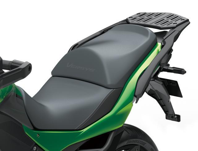 画像: 国内仕様のシート高は820mmと低めに設定されました。オプションには20mm高いハイシートも用意されています。