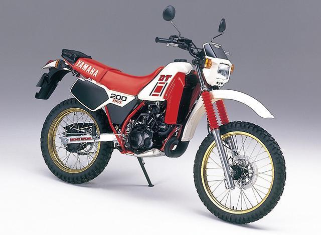 画像: 1984年 DT200R - コミュニケーションプラザ | ヤマハ発動機株式会社