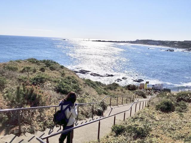 画像: この日は暖かくて海も気持ちよかった♡