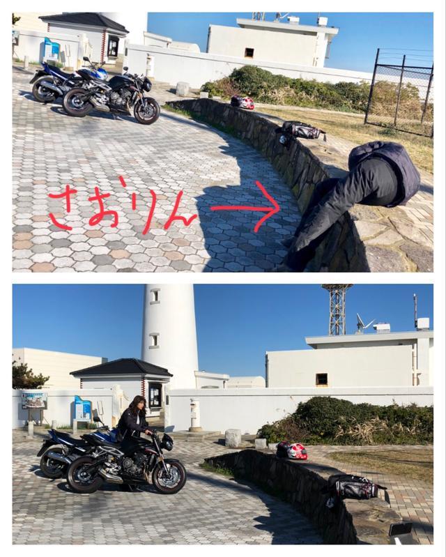 画像: バイク位置微調整もさおりん任せ…(笑)