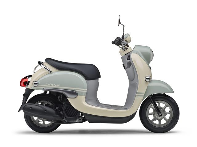画像7: ヤマハ「Vino」の2019年モデルはレトロポップな3色を追加!
