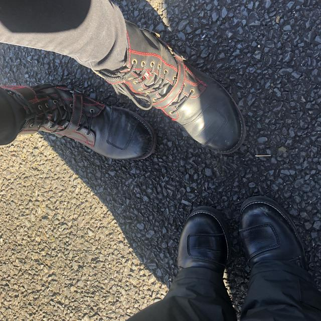 画像: 私達同じブーツなのですが 冬は風が通って寒いです。