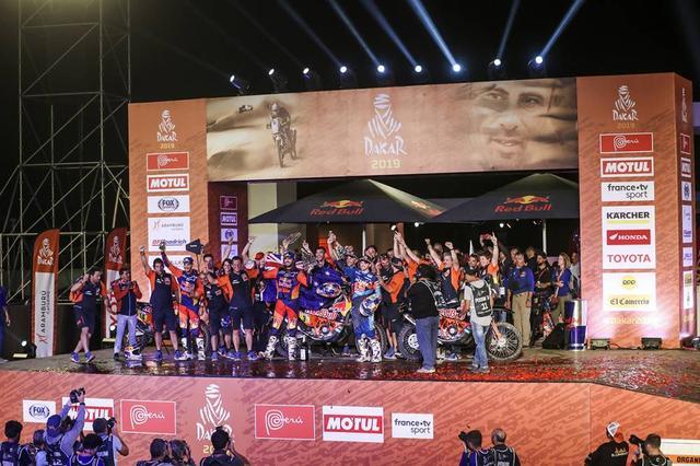 画像: 結果的にKTMの圧勝となったダカールラリー2019。今回で前人未到の18連覇を達成しました。この強さはどこまで続くのでしょうか!?