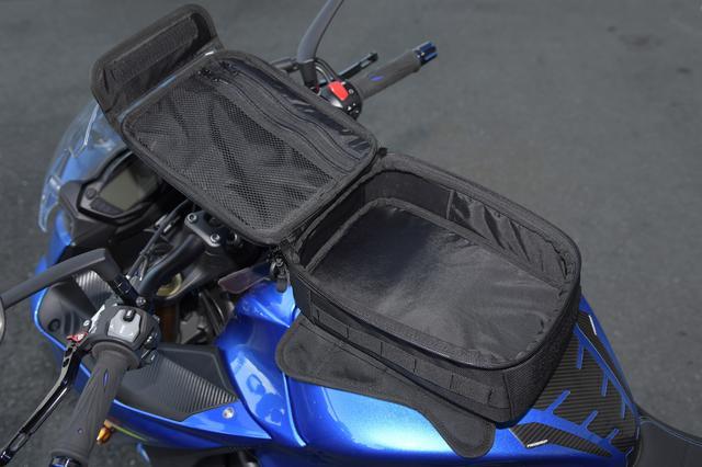 画像: バッグを開くと、内部はこんな感じになっています。