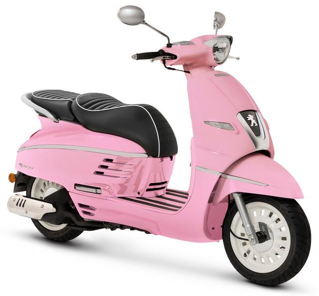 画像: カラーはディープピンク、メーカー希望小売価格は37万5,840円(消費税8%込み)。