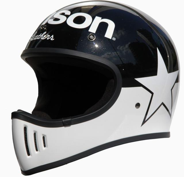 画像1: vansonブランドのビンテージオフロードヘルメットが登場!