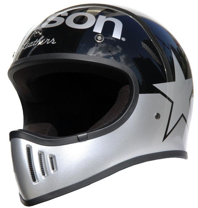 画像3: vansonブランドのビンテージオフロードヘルメットが登場!