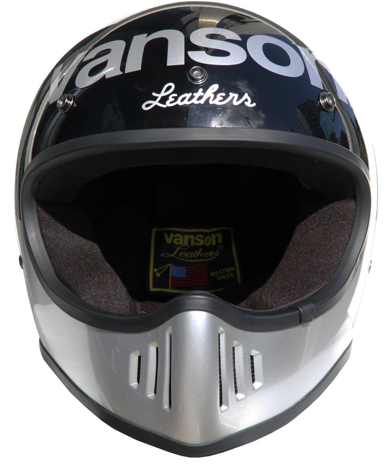 画像4: vansonブランドのビンテージオフロードヘルメットが登場!