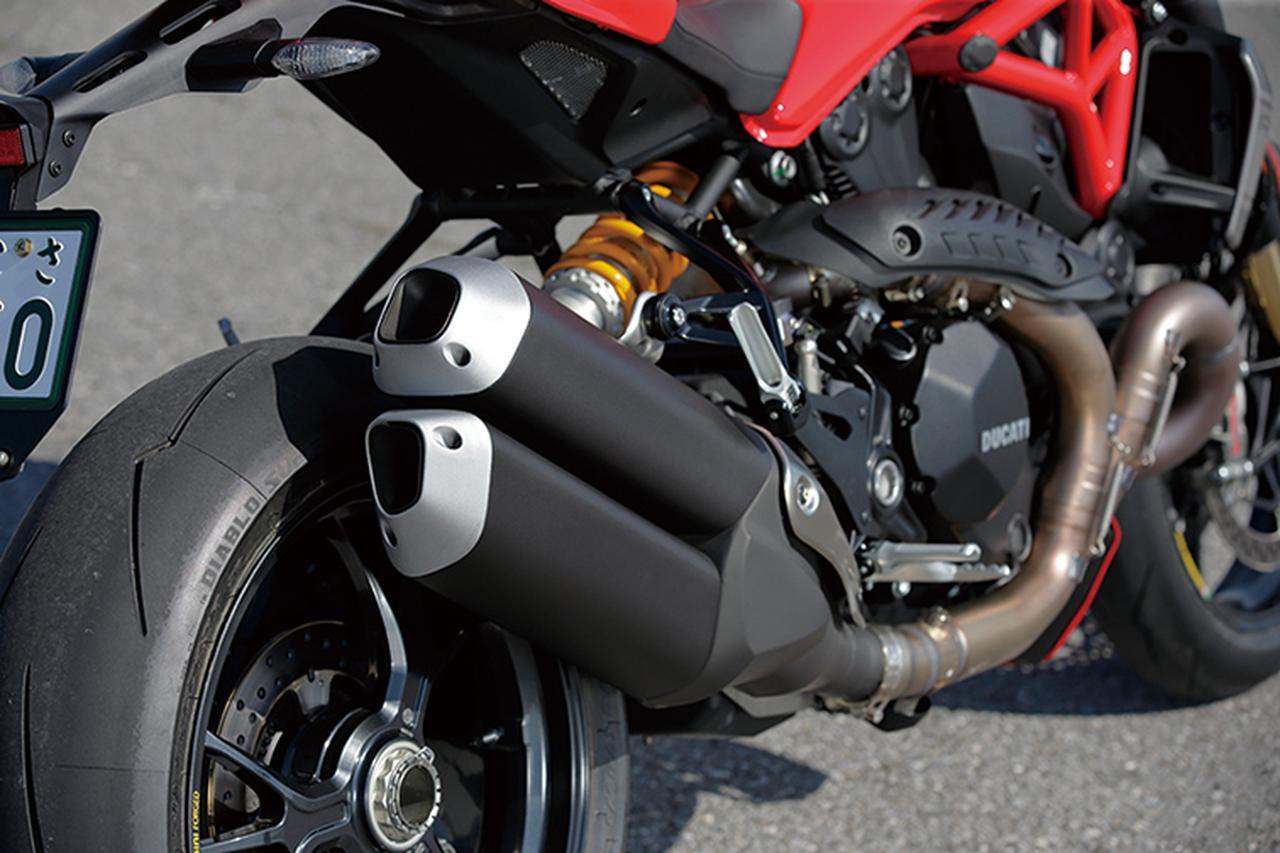 Images : 10番目の画像 - 「美を極めたイタリアン・モンスター【DUCATI Monster 1200/821】(2015年)」のアルバム - webオートバイ