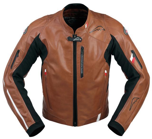 画像2: ソフトステア牛革の質感豊かなスポーツライディングジャケット