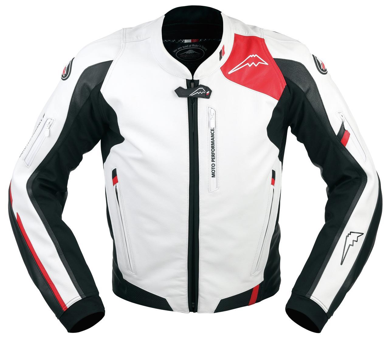 画像1: ソフトステア牛革の質感豊かなスポーツライディングジャケット