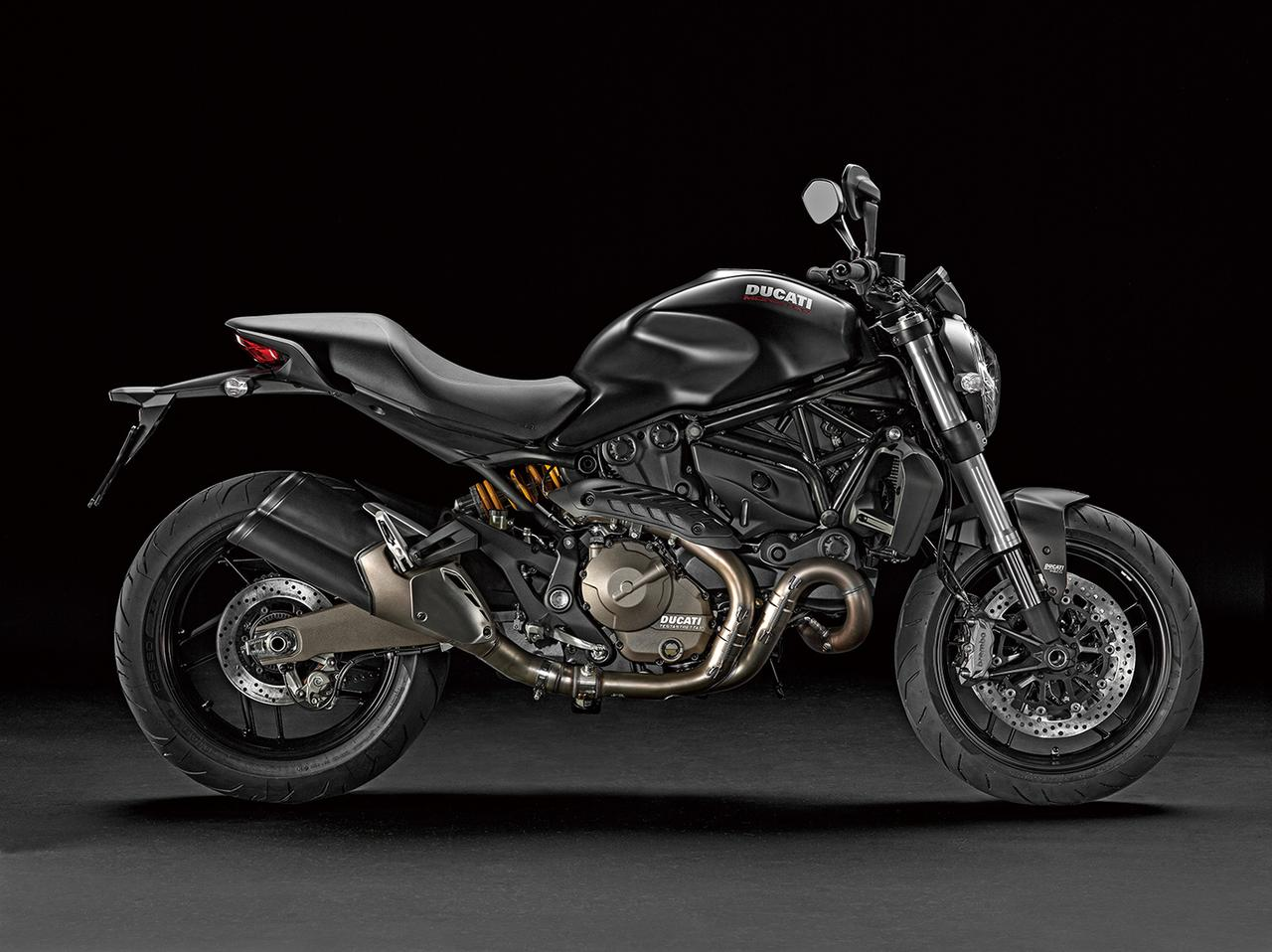Images : DUCATI Monster 821 Dark