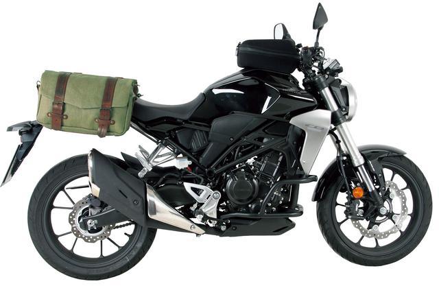 画像2: 付け外しは簡単! サイドバッグとしてもショルダーバッグとして使えます