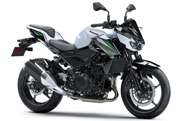 画像: 国内市場で現行販売している「Z250 ABS」との比較!