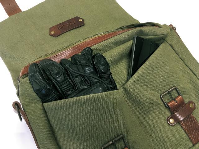 画像7: 付け外しは簡単! サイドバッグとしてもショルダーバッグとして使えます
