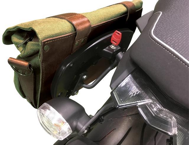 画像3: 付け外しは簡単! サイドバッグとしてもショルダーバッグとして使えます