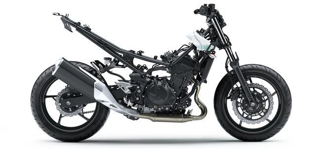 画像5: 待望のZ400はエンジン、フレームともに新設計!