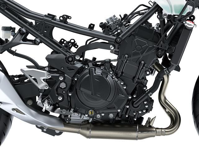 画像2: 待望のZ400はエンジン、フレームともに新設計!