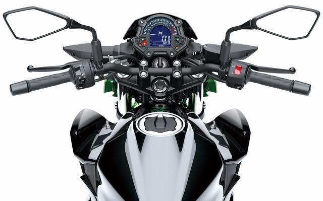 画像13: 待望のZ400はエンジン、フレームともに新設計!