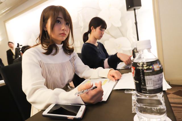 画像1: 編集部からは梅本まどか、平嶋夏海が発表会に参加!