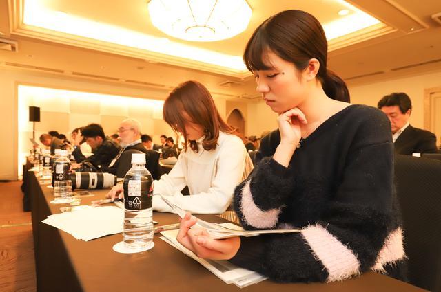 画像2: 編集部からは梅本まどか、平嶋夏海が発表会に参加!